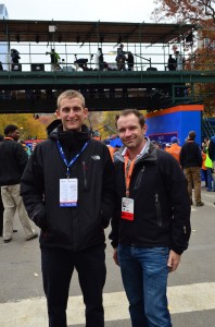 Phil Watson and Steve Meres from Loughborough University.