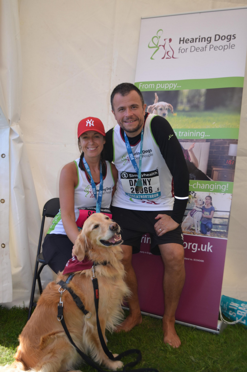 Great North Run for Hearing Dogs