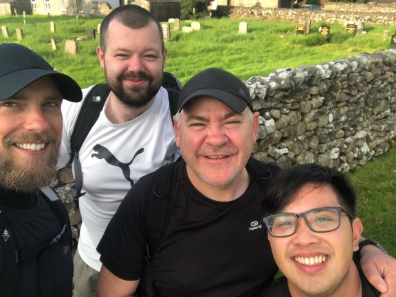Yorkshire Three Peaks Challenge for Prostate Cancer UK