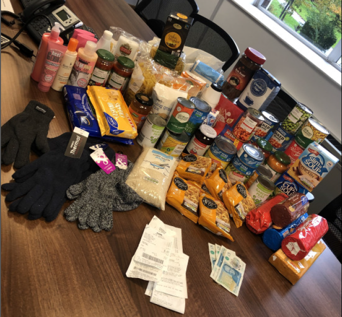 Manchester Colleagues Donate to The Booth Centre to Support the Homeless