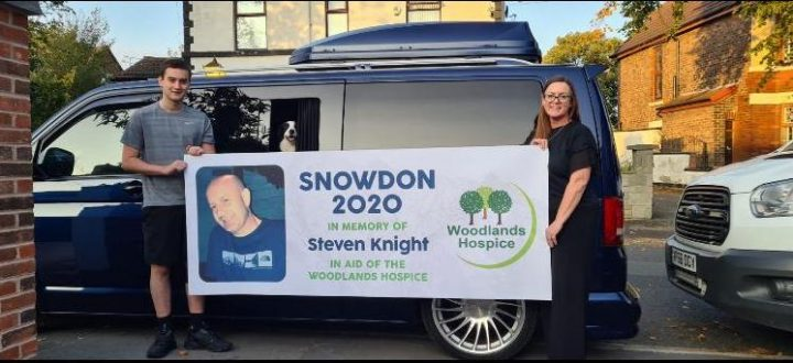 Foundation Members, Diane and Joe Knight Raise Over £15,000 for Woodlands Hospice!