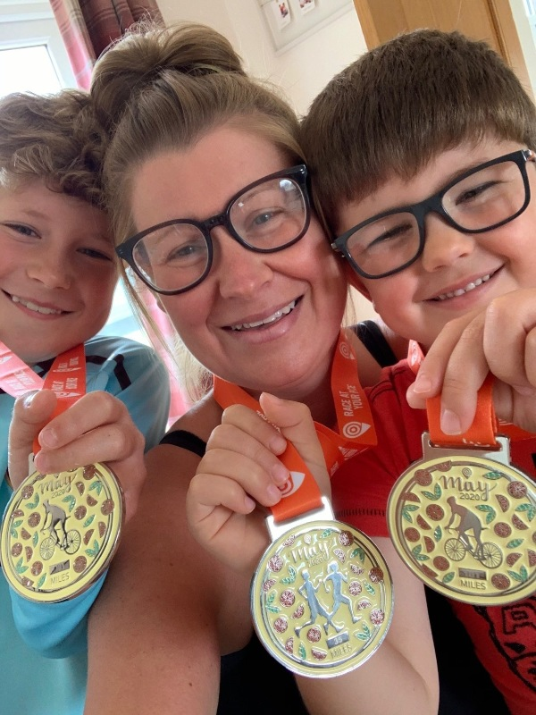 Sarah Price raises almost £2,000 for Cancer Research UK