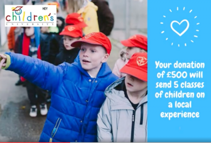 Supporting Local Charity – HEY Children's University