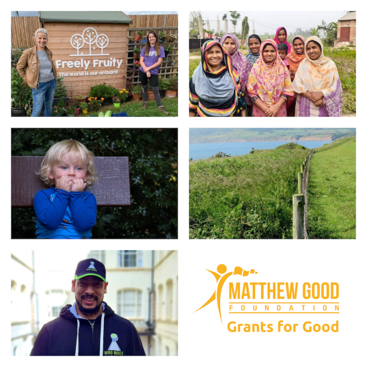 Matthew Good Foundation reveals first Grants for Good Finalists for 2021